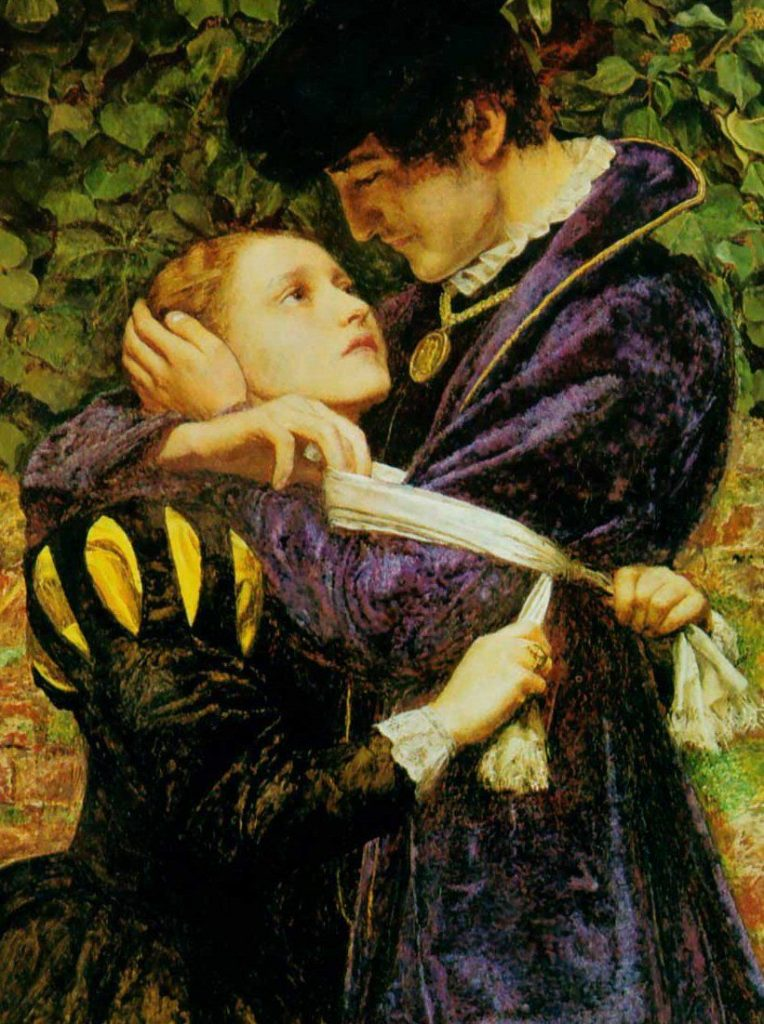 John Everett Millais, A Huguenot on St. Bartholomew's Day